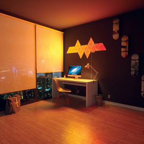 Vamp Up Your Gaming Space With Nanoleaf