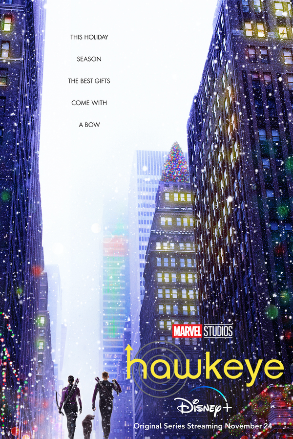 """DISNEY+ DEBUTS OFFICIAL TRAILER AND TEASER POSTER FOR MARVEL STUDIOS' """"HAWKEYE"""""""
