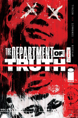 """BESTSELLING SERIES """"THE DEPARTMENT OF TRUTH"""" SELLS-OUT RUSHED TO FIFTH PRINTING"""