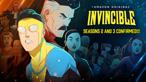 AMAZON STUDIOS RENEWS ROBERT KIRKMAN'S INVINCIBLE FOR TWO MORE SEASONS