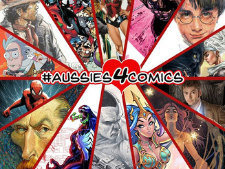 The Aussies 4 Comics Fundraising results are in!