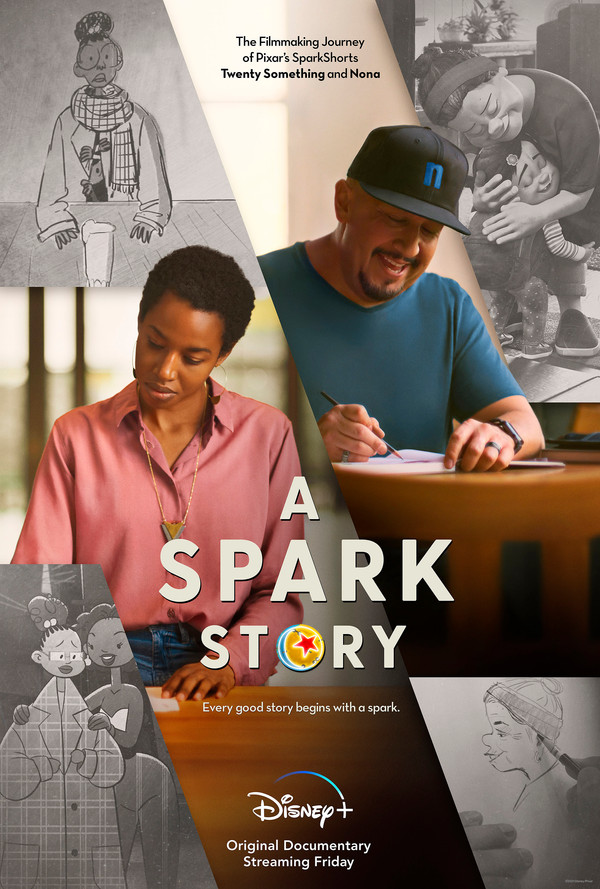 """DISNEY+ AND PIXAR ANIMATION STUDIOS RELEASE NEW TRAILER FOR """"A SPARK STORY"""""""