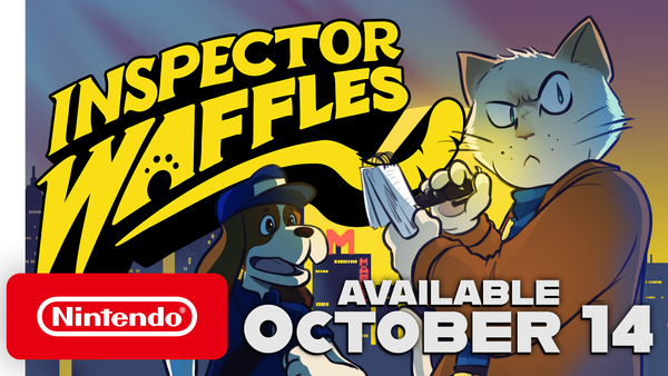 Hitcents Hit Detective Game Inspector Waffles Is Set to Release on Switch