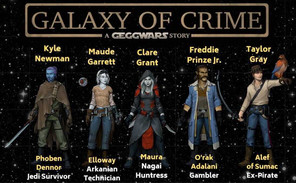PAX Aus Online adds the Galaxy of Crime cast to their stellar event line up