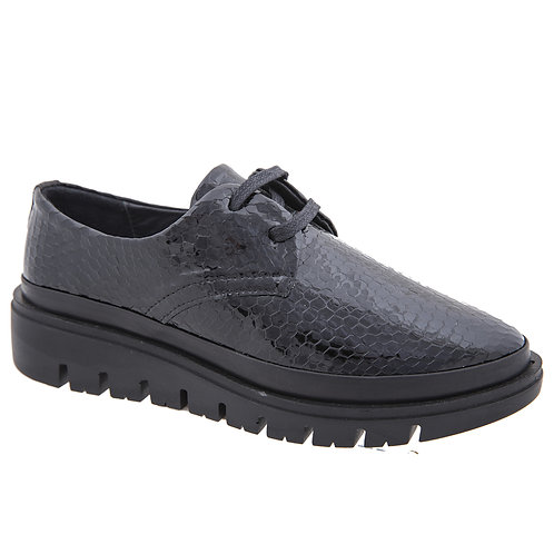Flyfoot נעלי אוקספורד אופנתיות מעור