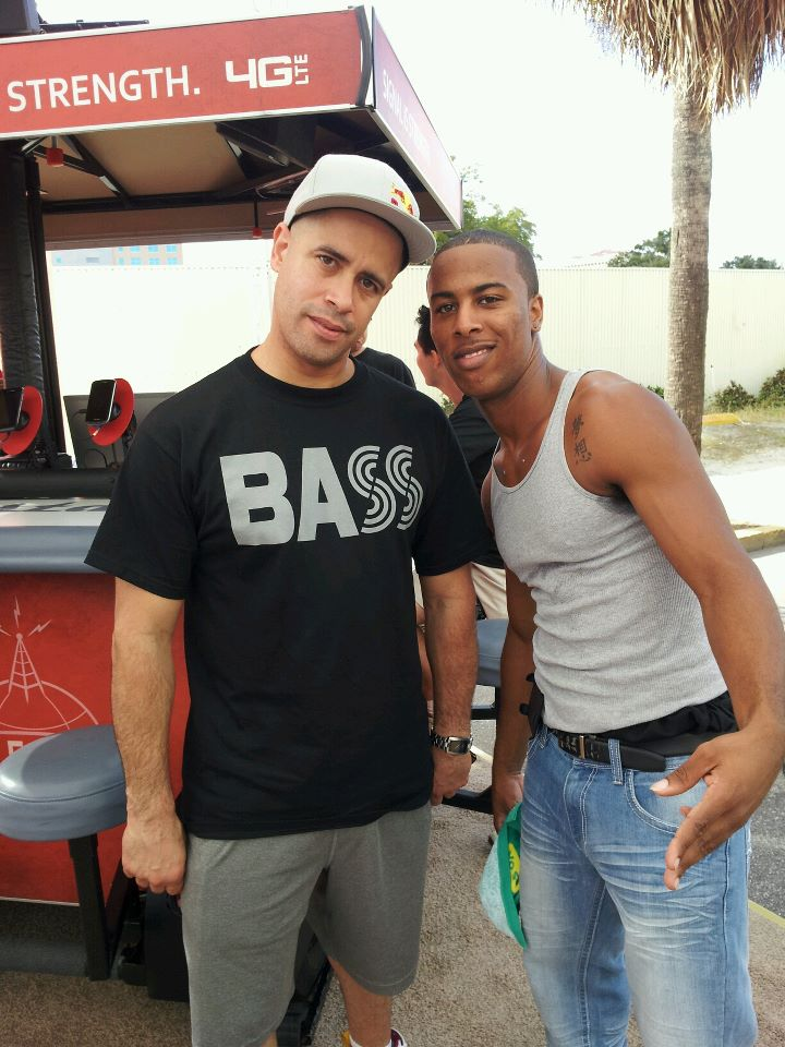 Original B-Boy Crazy-Legz and I