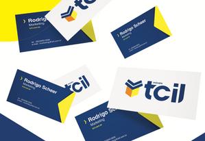 Criação de marca e identidade visual e papelaria para Móveis Tcil