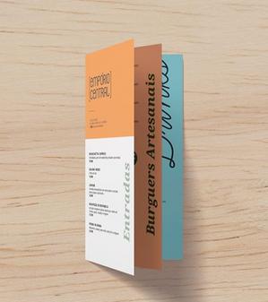 Criação de marca e identidade visual e papelaria para Empório Central