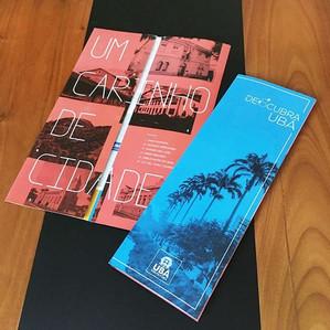 Criação de marca e identidade visual para projeto Descubra Ubá da Prefeitura de Ubá