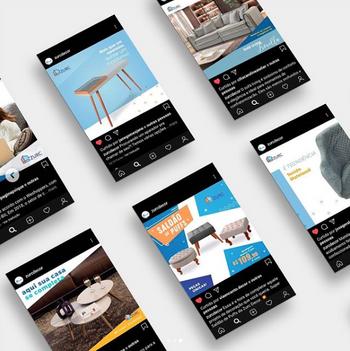 Gerenciamento, criação de conteúdo e execução de artes para mídias sociais Zurc Decor - 2018 até 2019