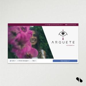 Criação de marca e identidade visual e papelaria para Arquete Fotografia