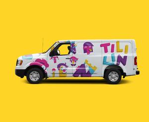 Naming, criação de marca, identidade visual e papelaria para Tililin Móveis
