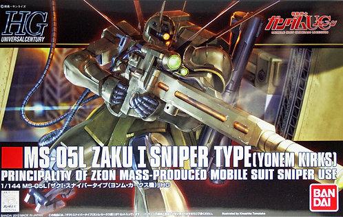 HGUC MS-05L Zaku I Sniper Type ( Yonem Kirks)