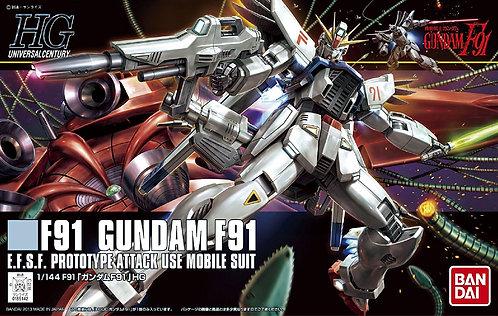 HGUC F91 Gundam F91