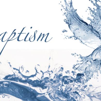 Baptism of Marshall and Maddison