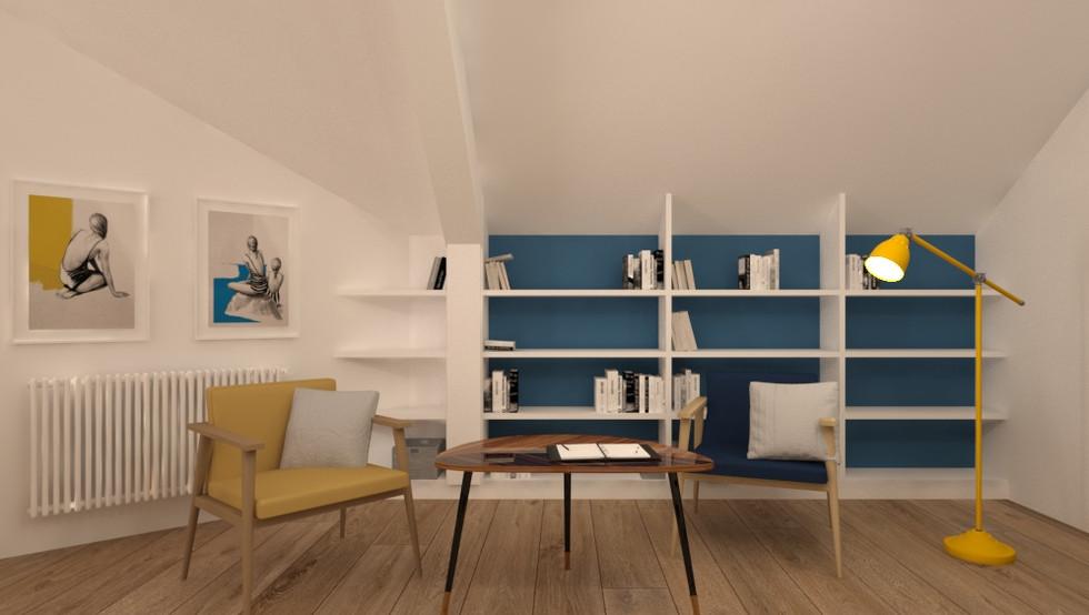 PROJEKT SYPIALNI 36 m²