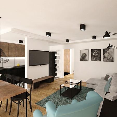 PROJEKT MIESZKANIA 76 m²