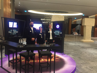 Game Booth at the Göbeklitepe Gala Event - WEF 2016 in The InterContinental Davos, Switzerland
