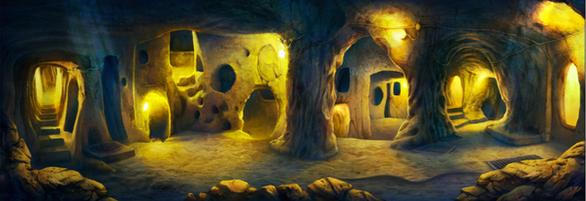 Concept design of the underground tunnels of Cappadocia