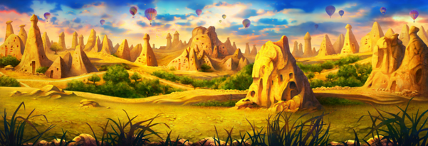 Concept design of Cappadocia atmosphere