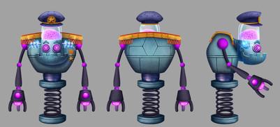 Villain: Commander Kronos - Character concept design