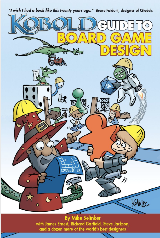 Kobold Guide to Board Game Design by Mike Selinker