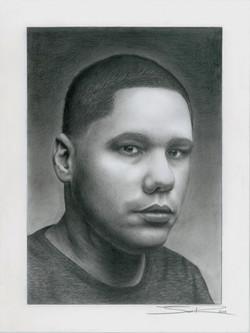 Self Portrait by Josue Viridian