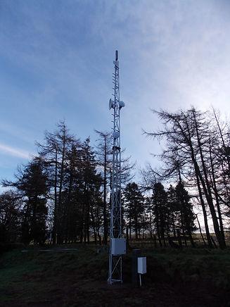 Brychgoed Mast Installation