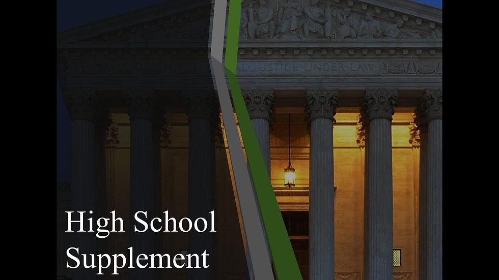 High School Supplement (Digital)