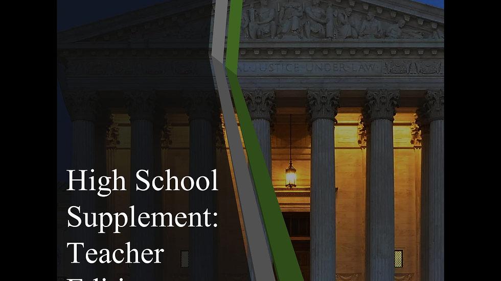 High School Supplement: Teacher Edition (Digital)