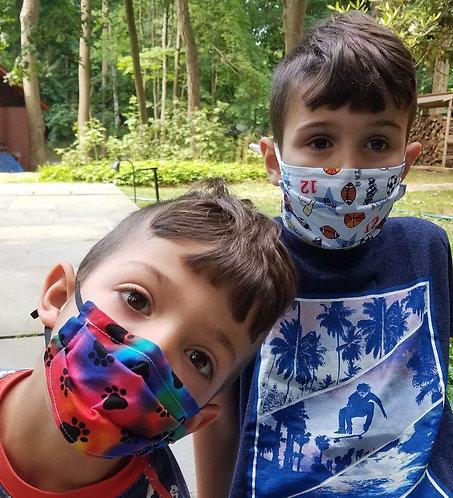 Kid's Custom Barrier Mask