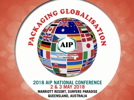 See us at the 2018 Australian Institute of Packaging National Conference