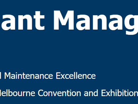 See us at Total Plant Management 2018