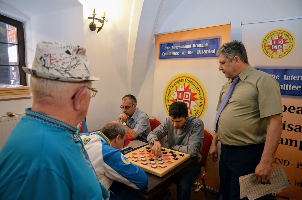 2018. Nidzica. 2nd European Draughts-64 Disabilities Champ. 54