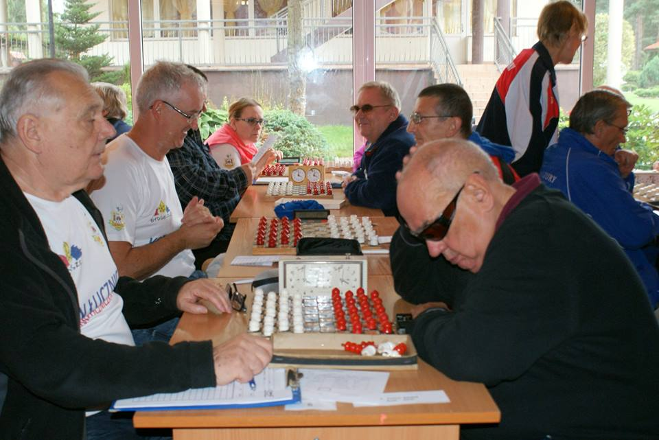 2017. Poddabie. Poland Team Draughts-100 Ch. Blind & Partially Sighted 1