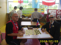 2009. Milakowo-Morag. World Draughts-64 Blind and Partially Sighted 007