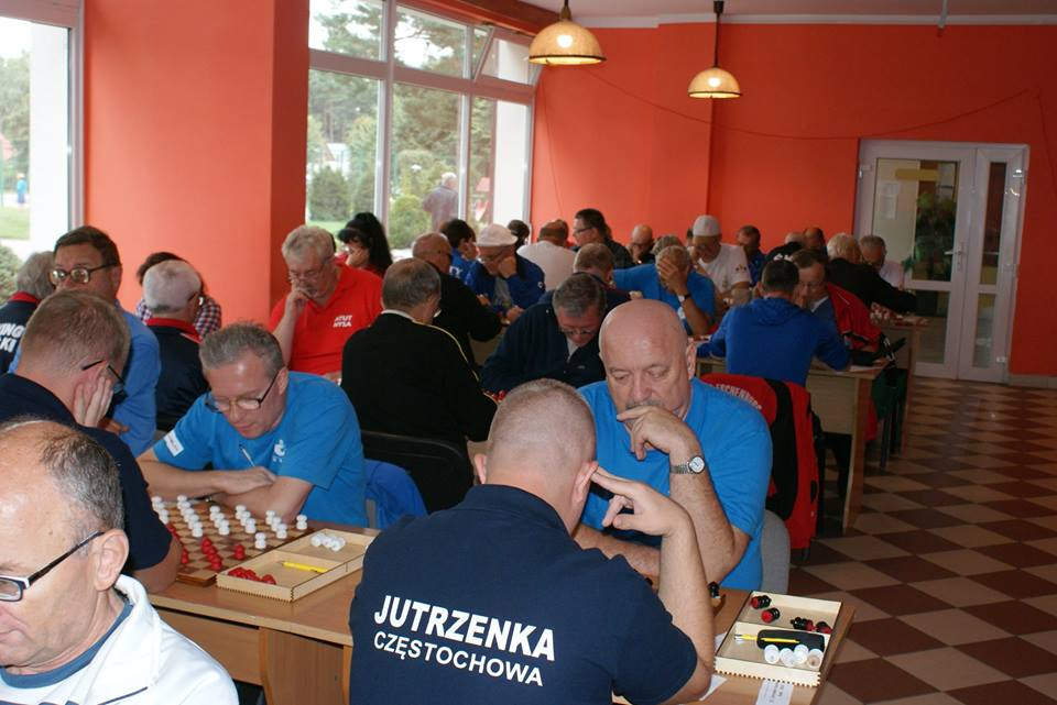 2017. Poddabie. Poland Team Draughts-100 Ch. Blind & Partially Sighted 16