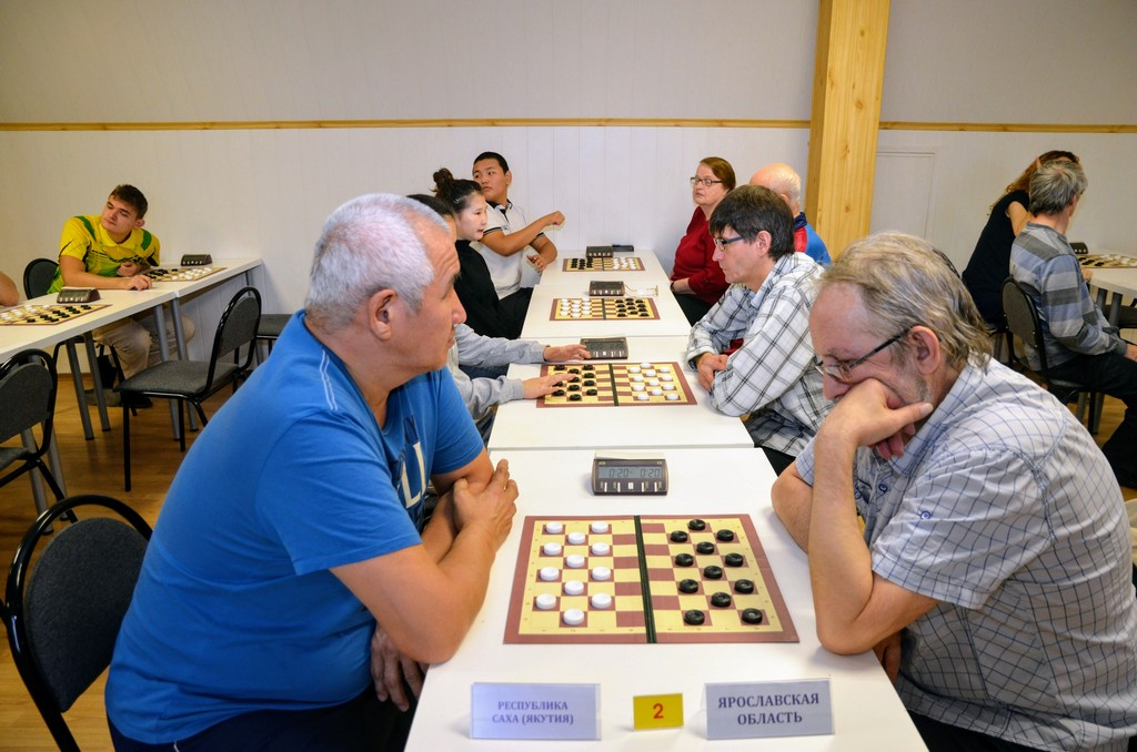 2018. Zelenograd. Russia Deaf Draughts Champ. 76