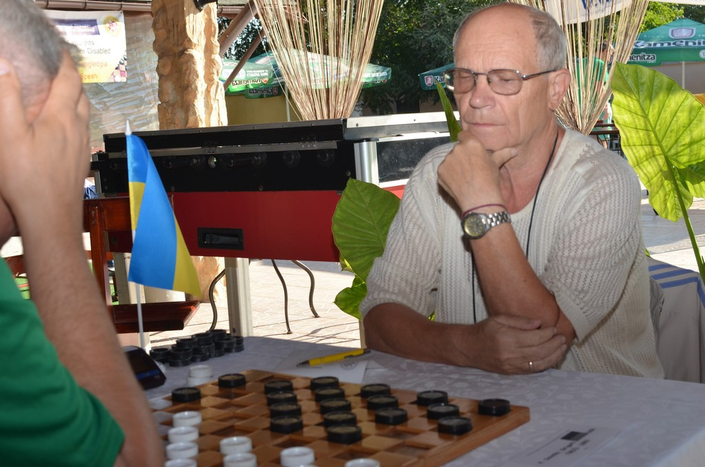 2017. Kranevo. IDCD Draughts-100 Disabilities Ch. 012
