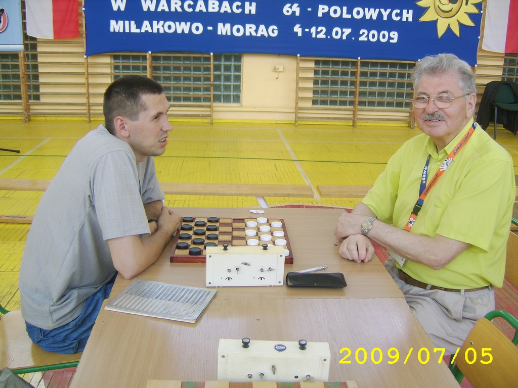 2009. Milakowo-Morag. World Draughts-64 Blind and Partially Sighted 011