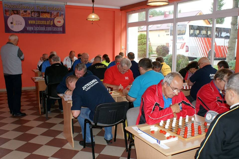 2017. Poddabie. Poland Team Draughts-100 Ch. Blind & Partially Sighted 11