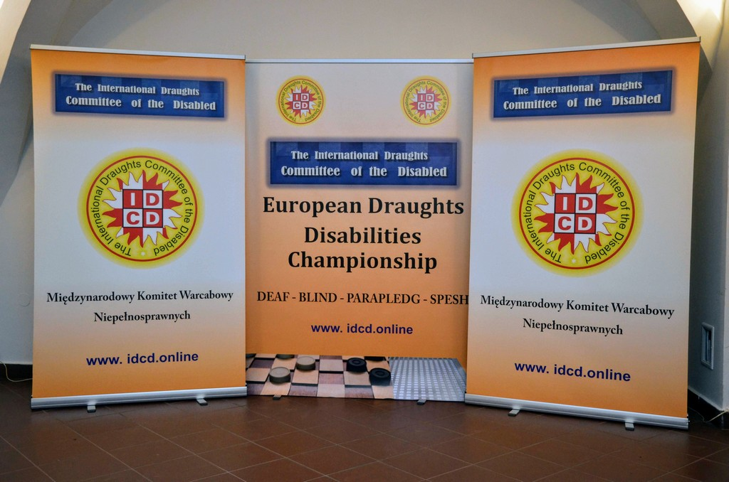 2018. Nidzica. 2nd European Draughts-64 Disabilities Champ. 83