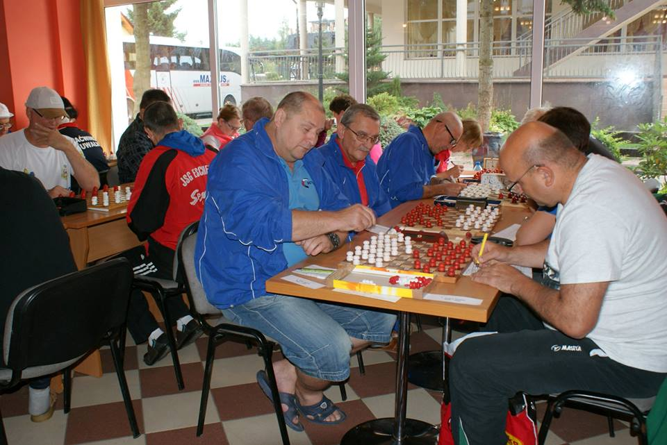 2017. Poddabie. Poland Team Draughts-100 Ch. Blind & Partially Sighted 8