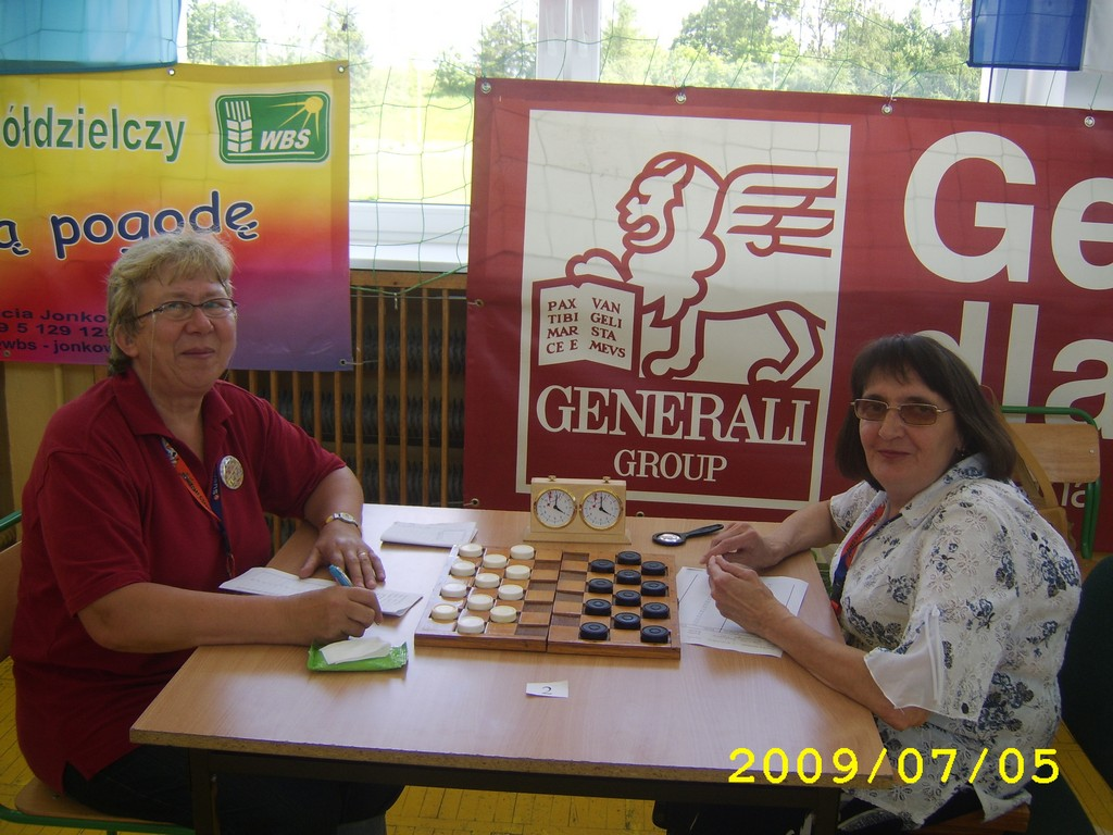 2009. Milakowo-Morag. World Draughts-64 Blind and Partially Sighted 009