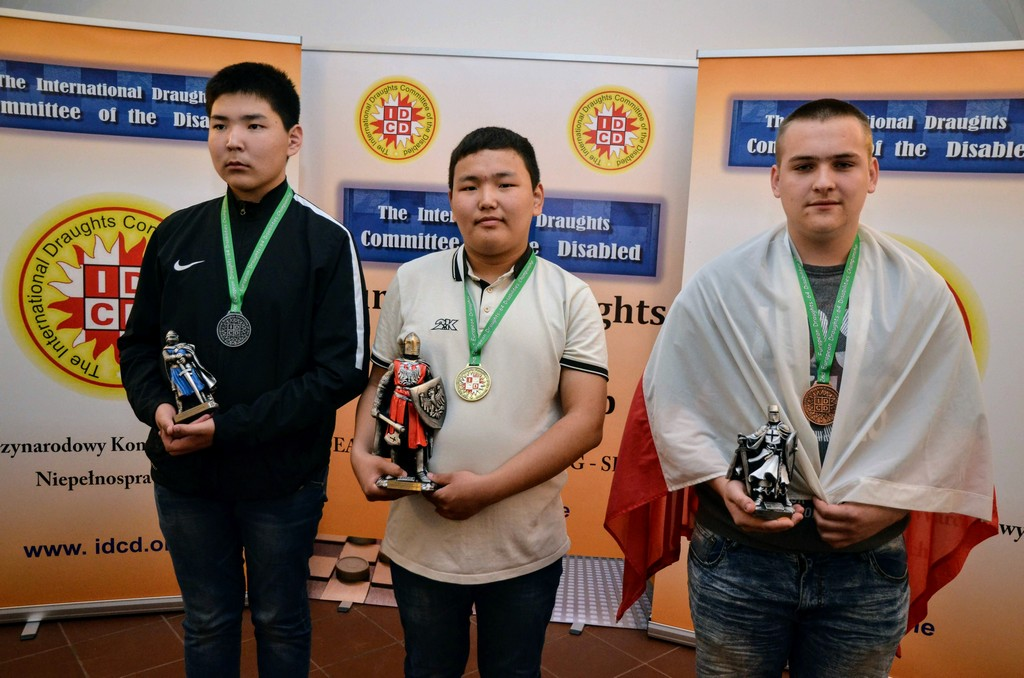 2018. Nidzica. 2nd European Draughts-64 Disabilities Champ. 90