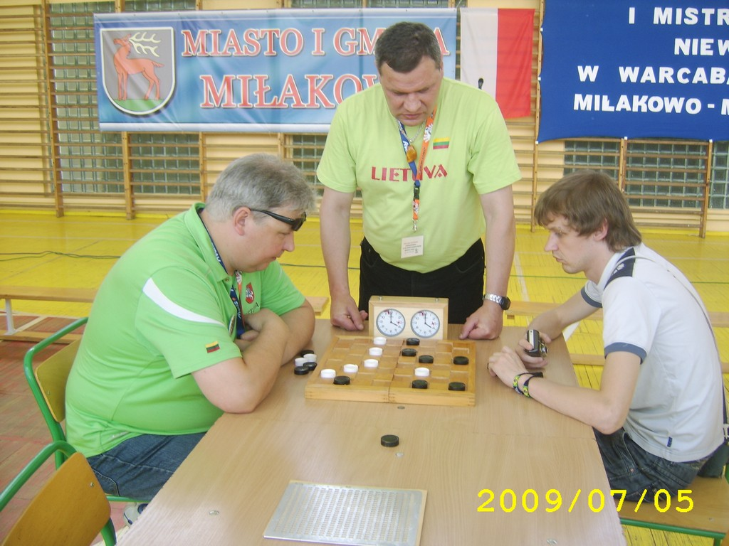 2009. Milakowo-Morag. World Draughts-64 Blind and Partially Sighted 012