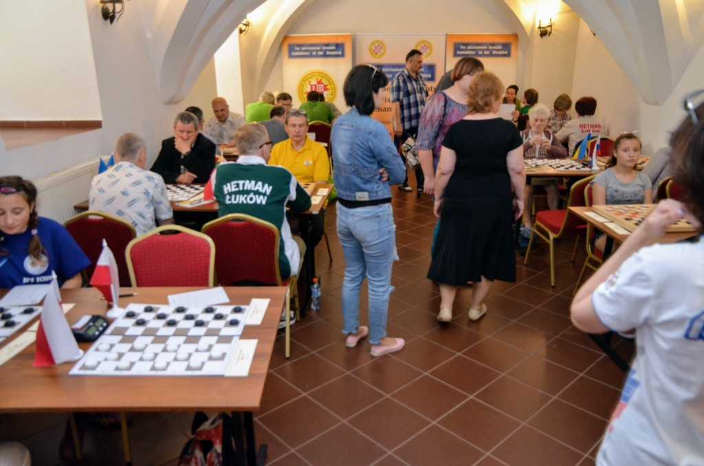 2018. Nidzica. 2nd European Draughts-64 Disabilities Champ. 58