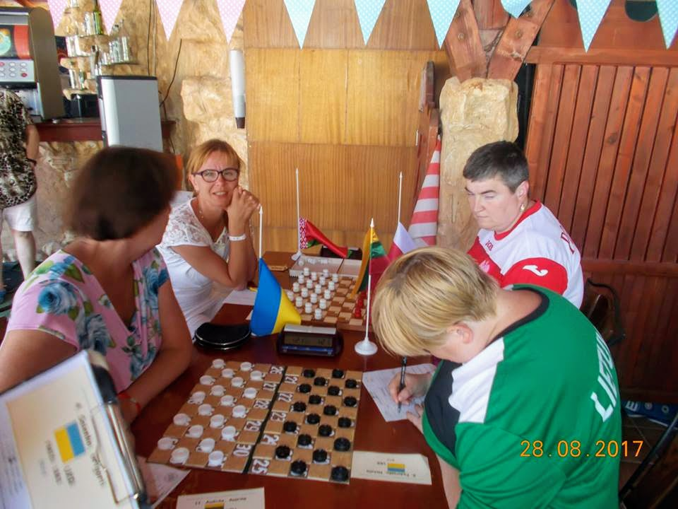 2017. Kranevo. IDCD Draughts-100 Disabilities Ch. 050