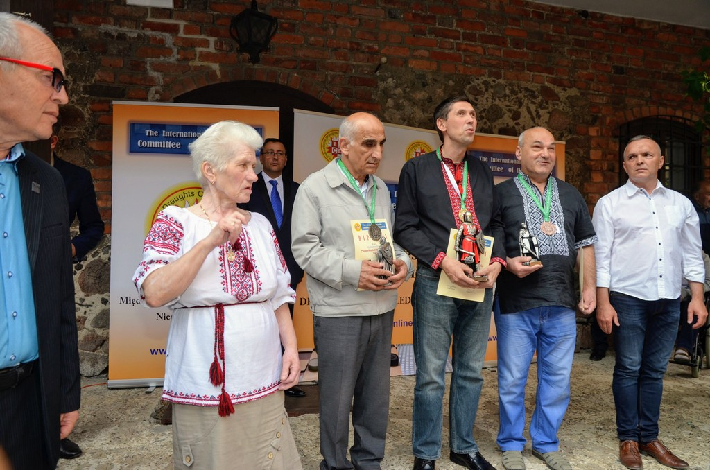 2018. Nidzica. 2nd European Draughts-64 Disabilities Champ. 10