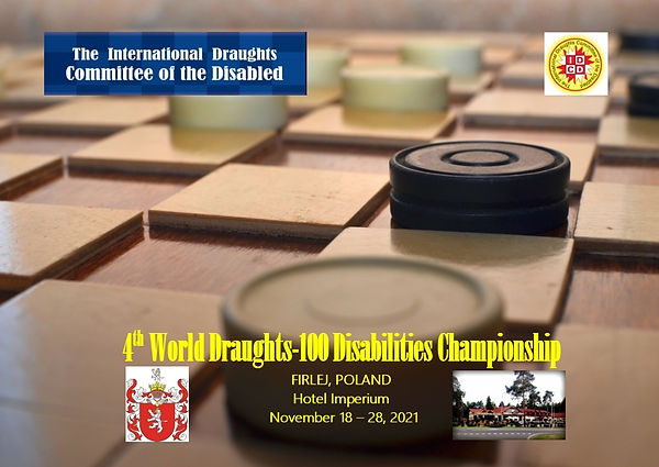 2021. Firlej. 4th World Draughts-100 Dis